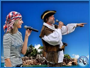 Divadlo VeTři - Námořnická výprava s piráty - grafika