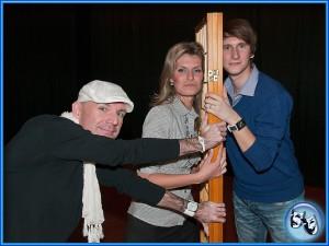 Divadlo VeTři - Tentokrát s námi - grafika