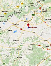 Divadlo VeTři - Mapy Google - Přechod na Google mapy